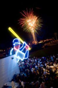 Reno Aces fireworks